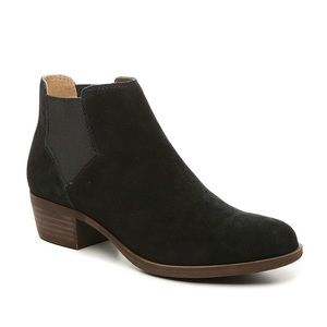 Lucky Brand Bellamy Ankle Booties Black Size 7.5